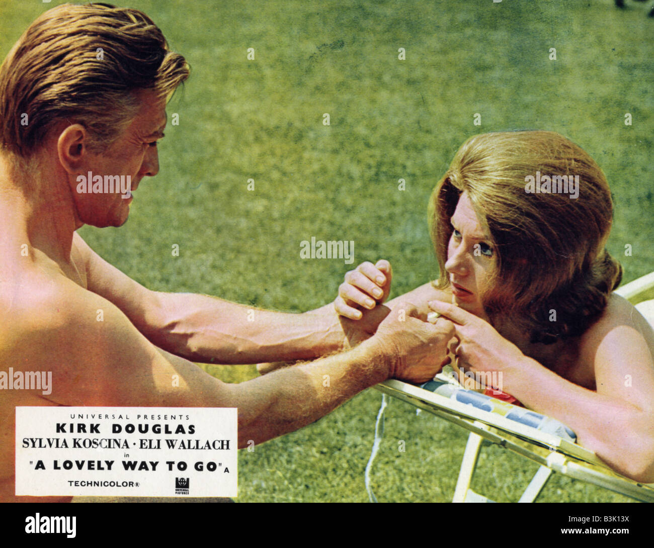 A LOVELY WAY TO GO 1968 Universal Film With Kirk Douglas And Sylva Koscina Aka