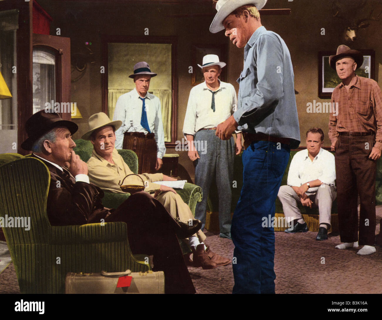 Bad Day At Black Rock 1955 Mgm Film With Lee Marvin Centre And Stock Photo Alamy