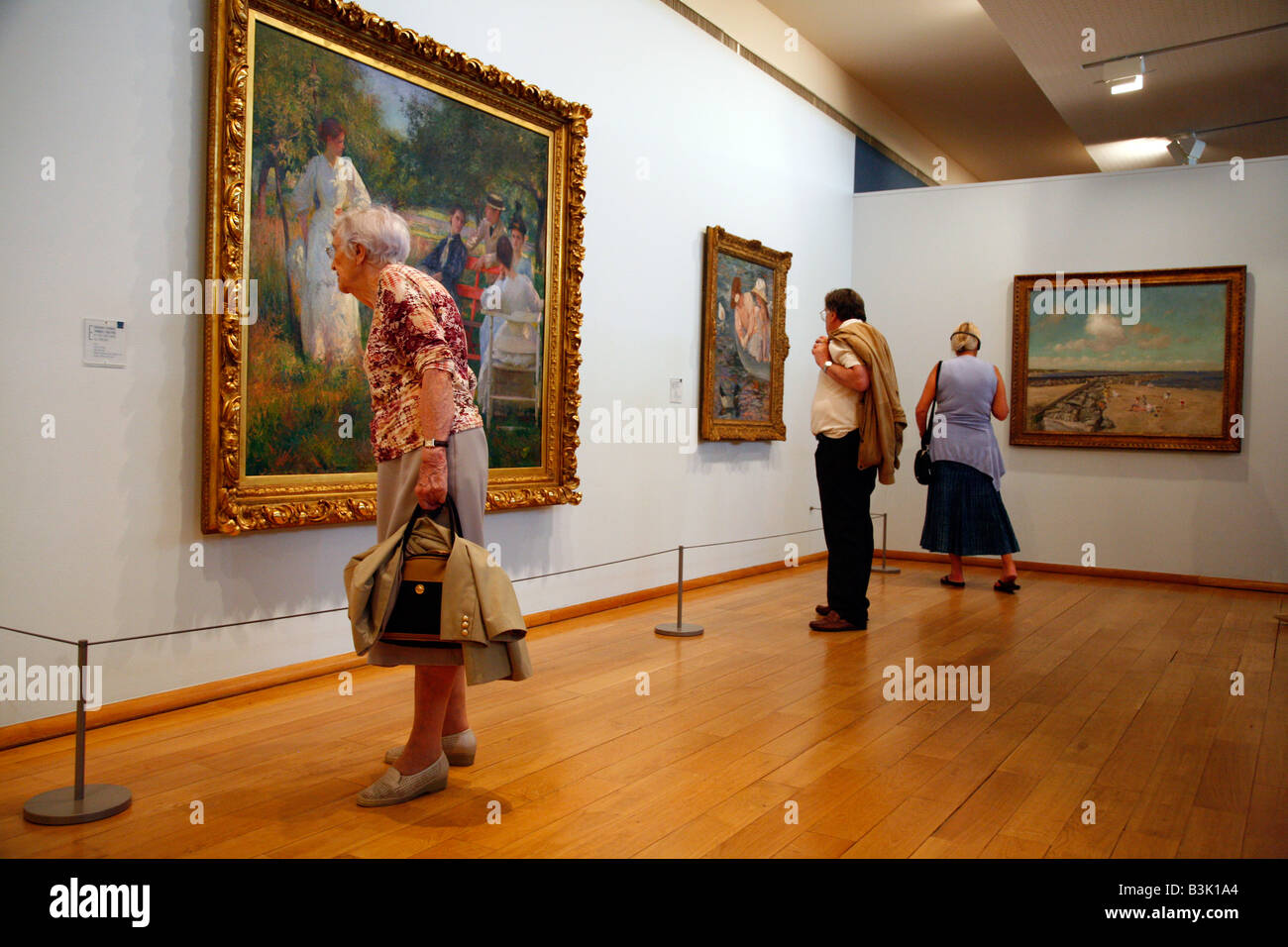 July 2008 - Musée d Art Américain in Giverny Normandy France - Stock Image