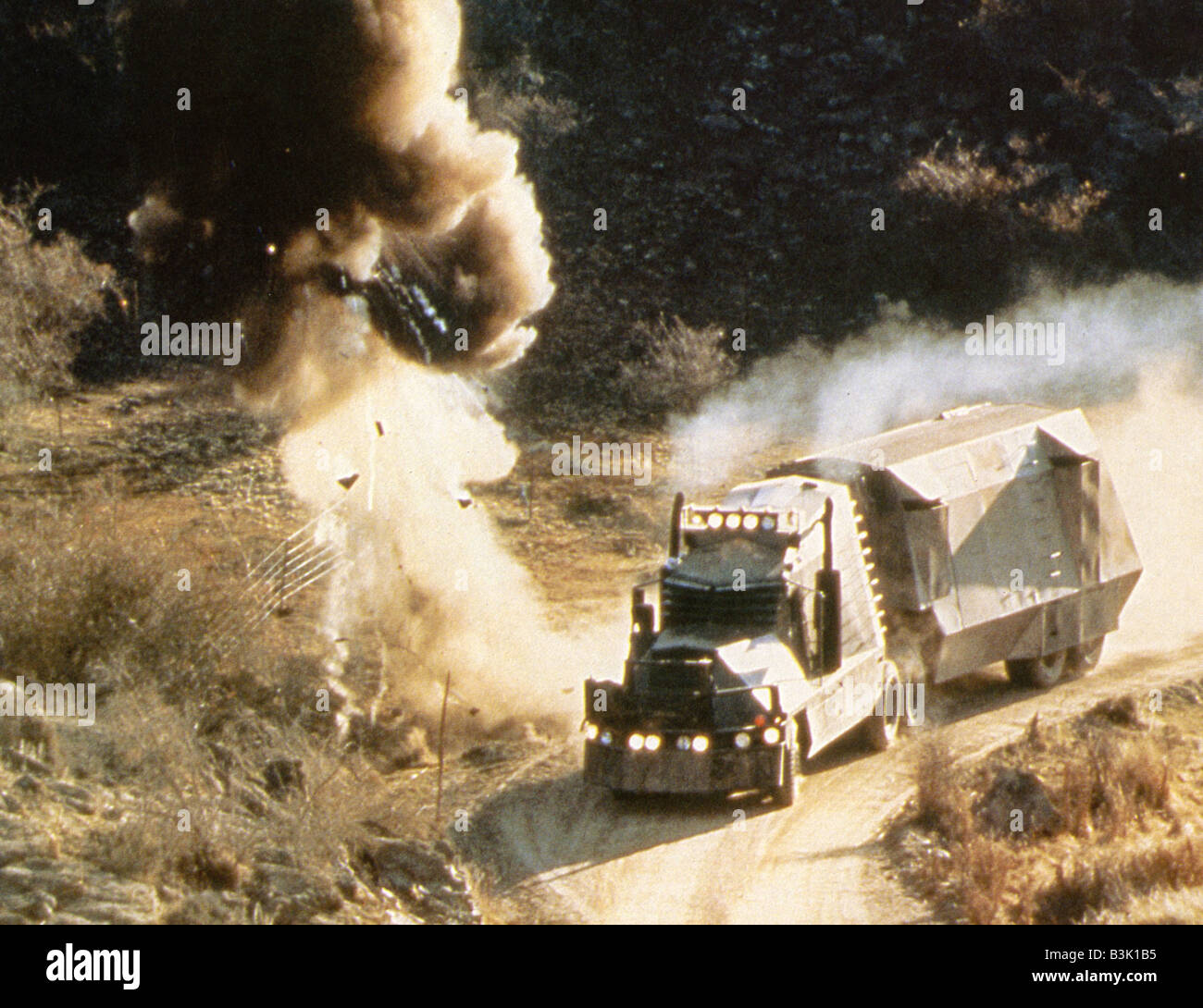 BATTLETRUCK 1981 New Zealand film aka Warlords of the 21st Century - Stock Image