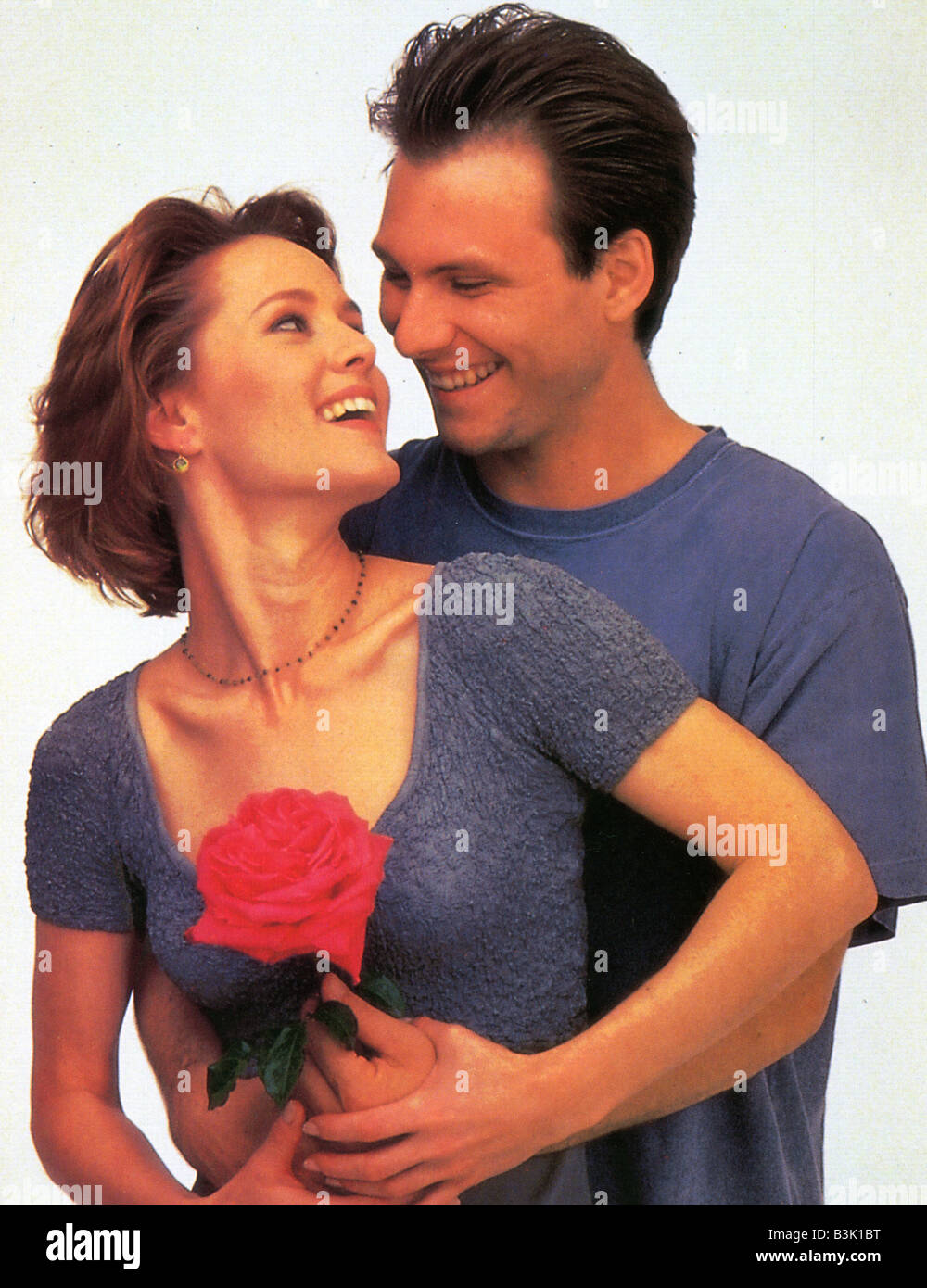 BED OF ROSES  1995 Entertainment film with Christian Slater and Mary Stuart Masterson Stock Photo