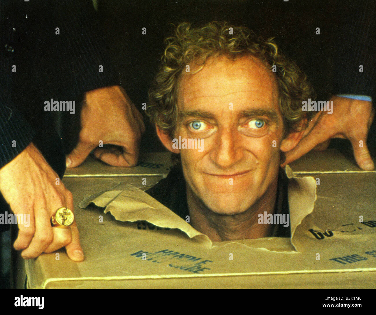 IN GOD WE TRUST 1980 Universal film with Marty Feldman - Stock Image