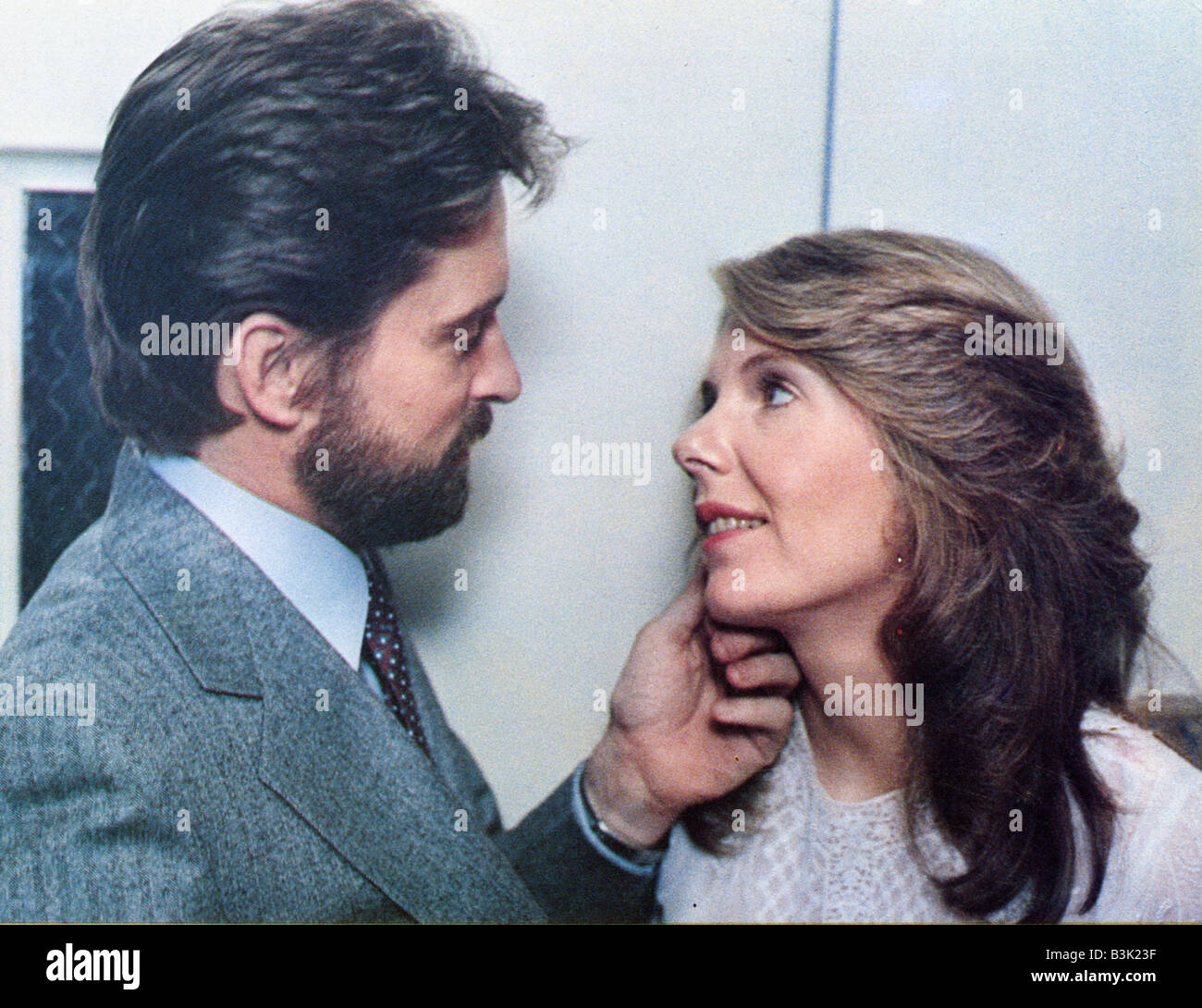 IT'S MY TURN  1980 Columbia film with Jill Clayburgh and Michael Douglas - Stock Image