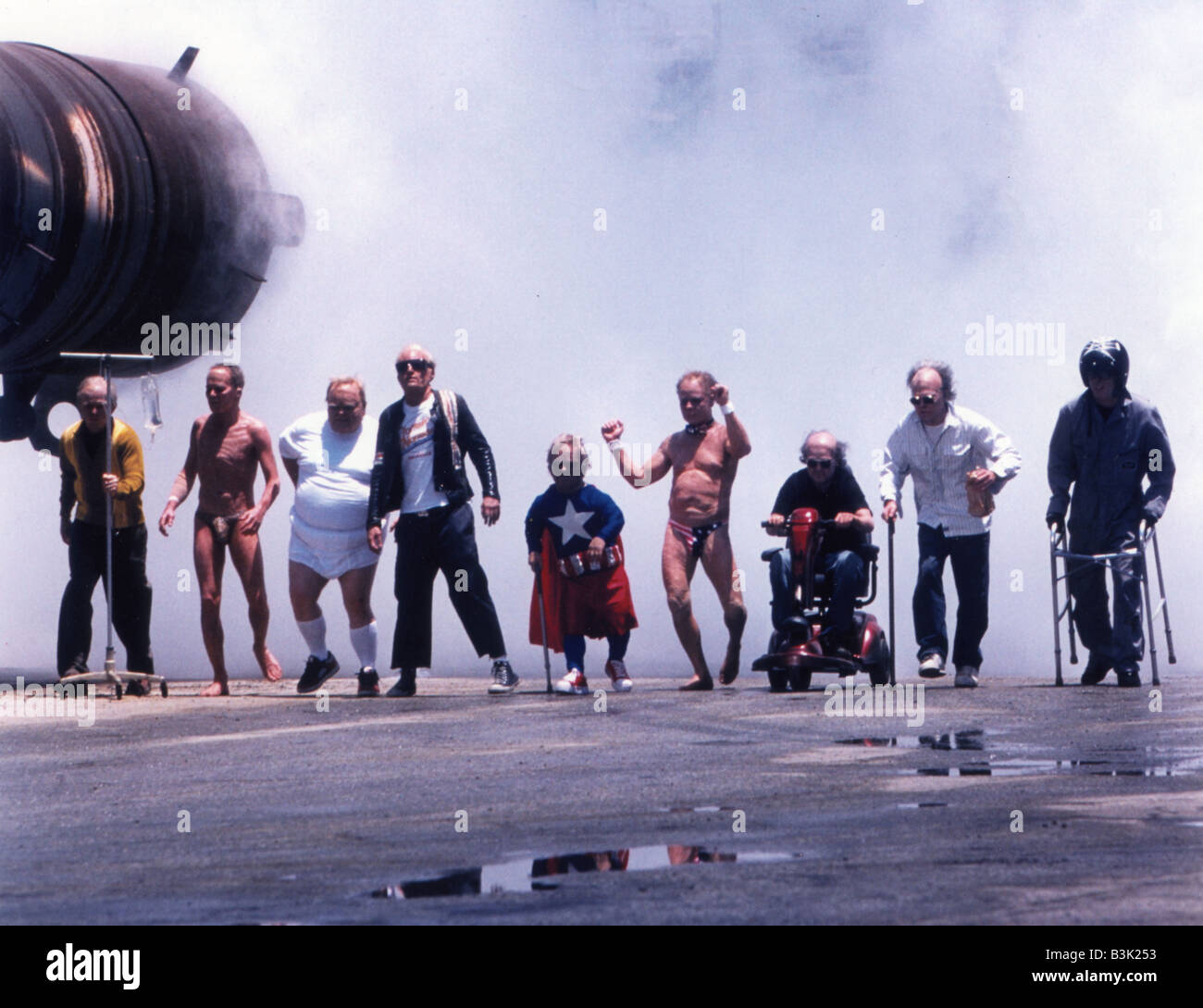 JACKASS THE MOVIE 2002 Paramount film - Stock Image