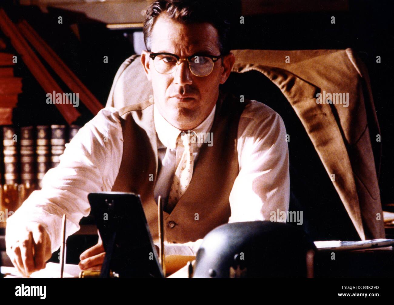 JFK  1991 Warner film with Kevin Costner produced by Oliver Stone - Stock Image