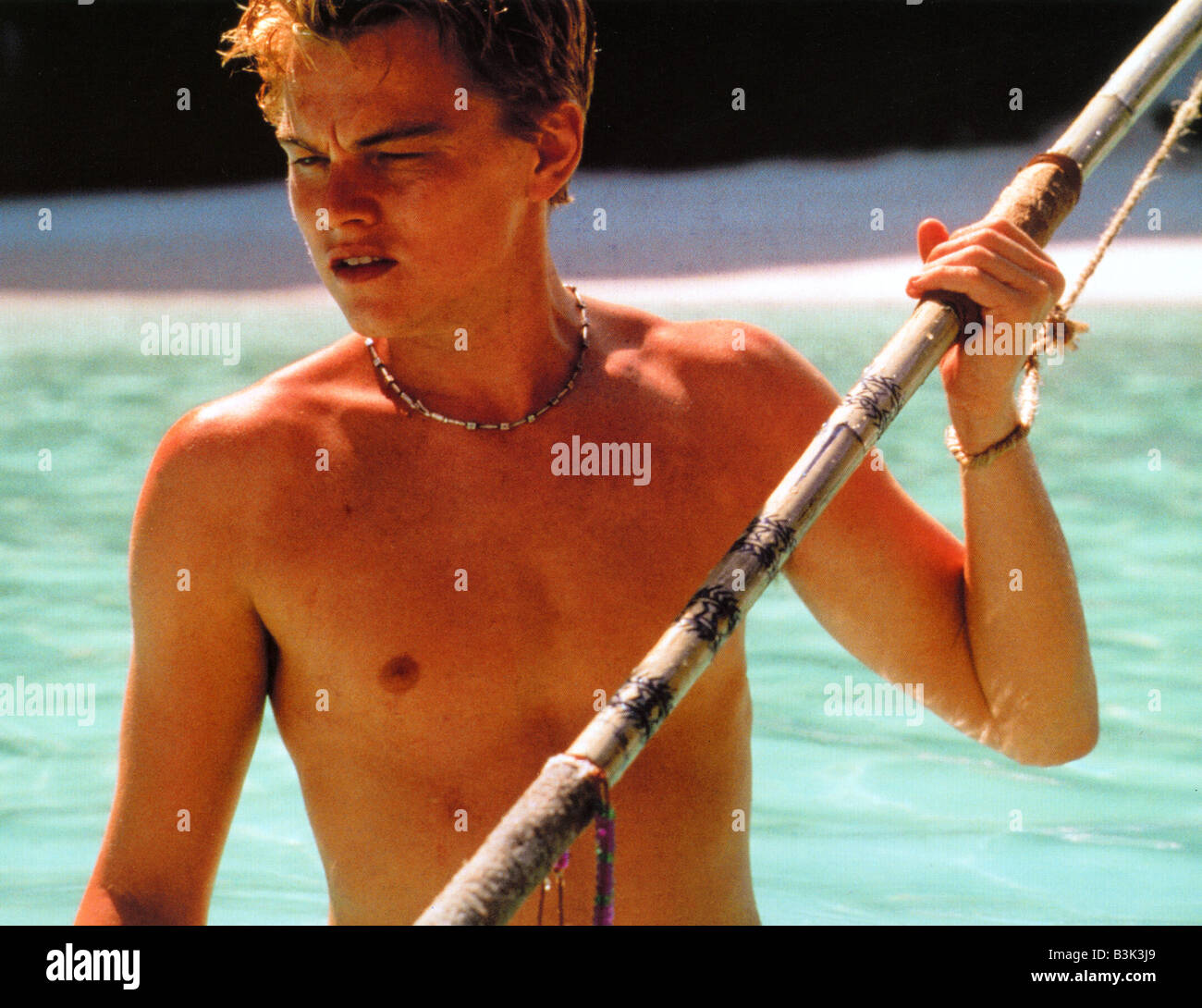 THE BEACH  2000 TCF film with Leonardo DiCaprio - Stock Image