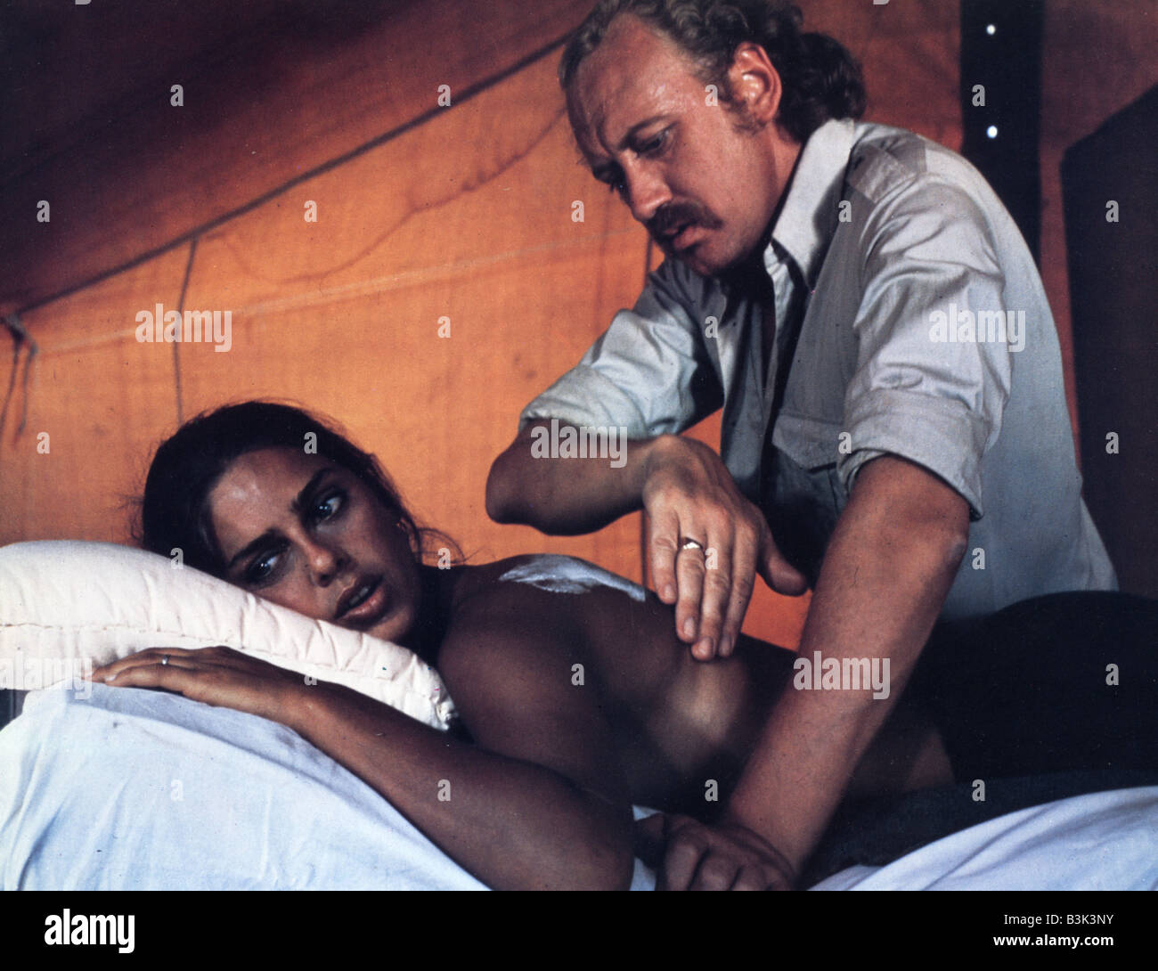 THE JERUSALEM FILE 1971 MGM film  with Nicol Williamson - Stock Image