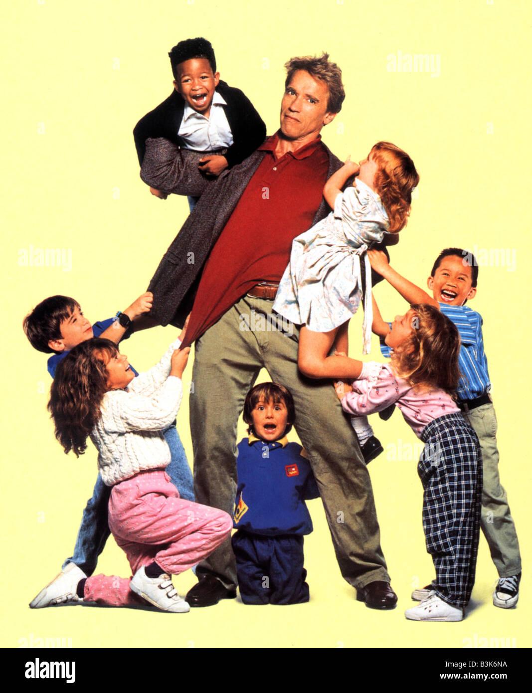 Kindergarten Cop 1990 Universal Film With Arnold Schwarzenegger Stock Photo Alamy