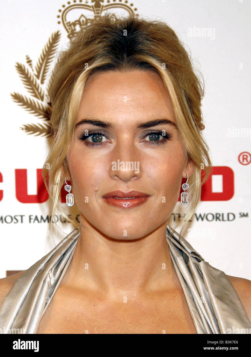 KATE WINSLET UK film actress in November 2007 - Stock Image