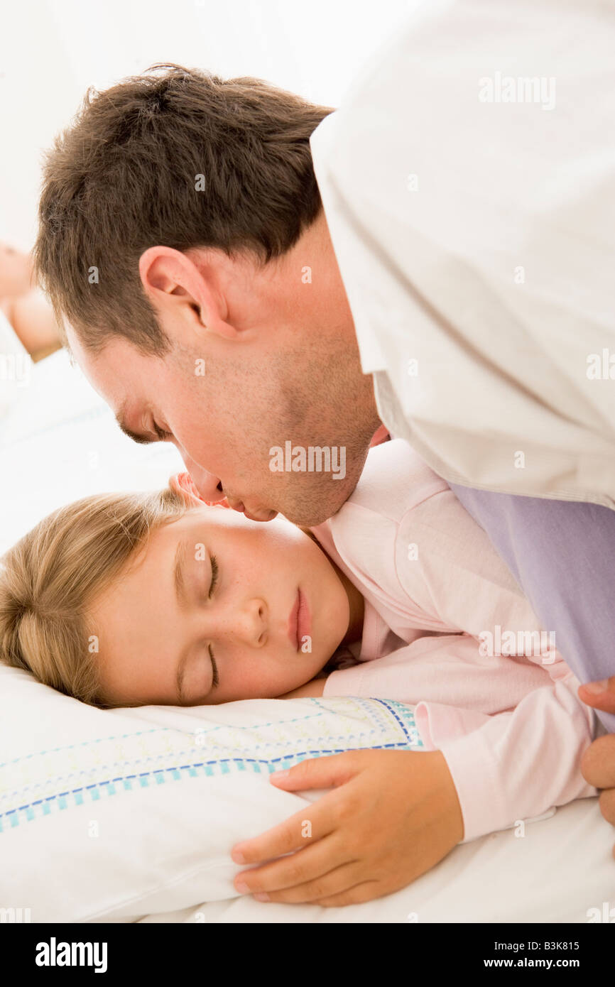 Father Asleep In Bed Stock Photos  Father Asleep In Bed Stock Images - Alamy-3991