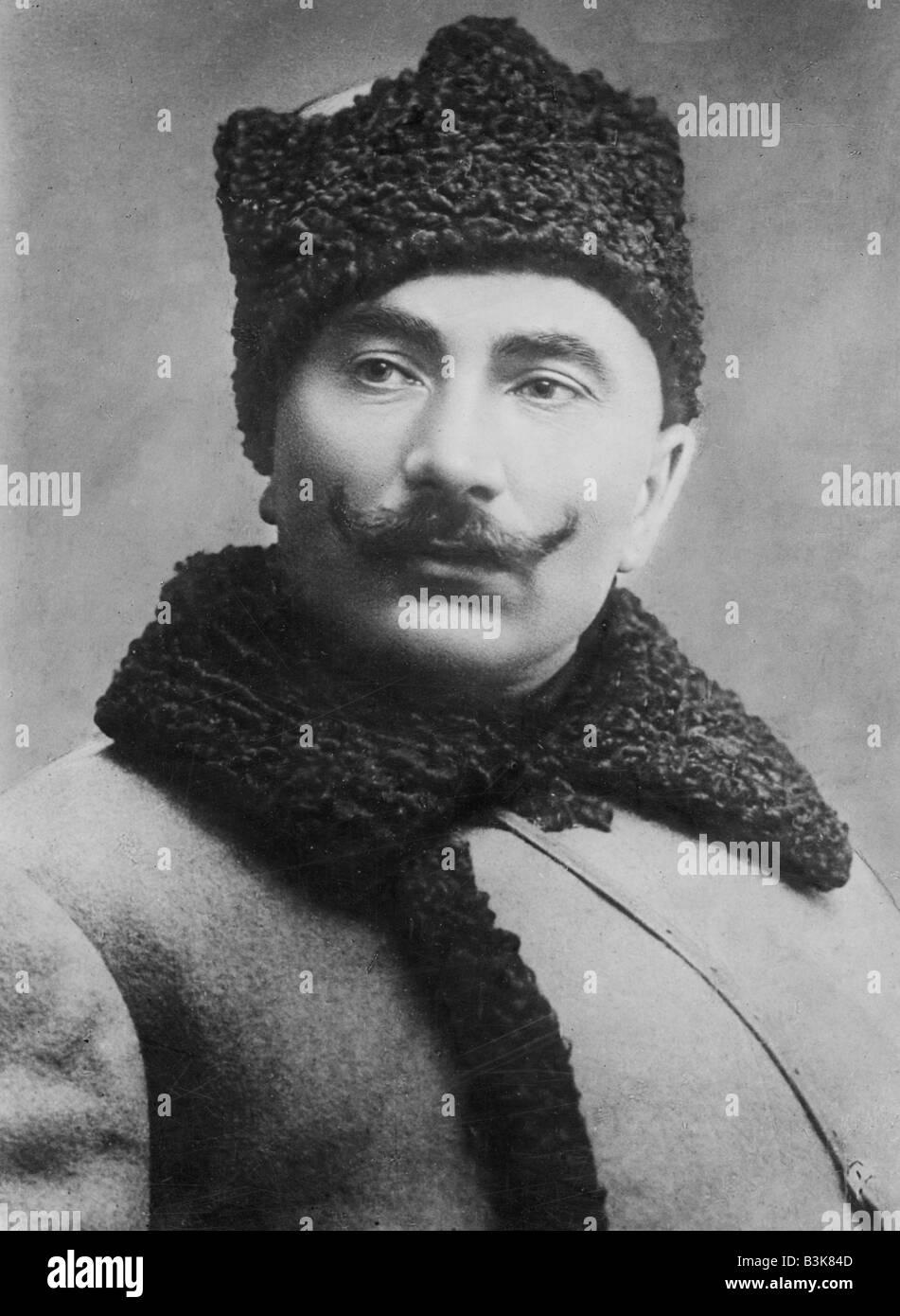 SEMYON MIKHAILOVICH BUDENNY  Soviet military commander 1883 to 1973 here in 1927 Stock Photo