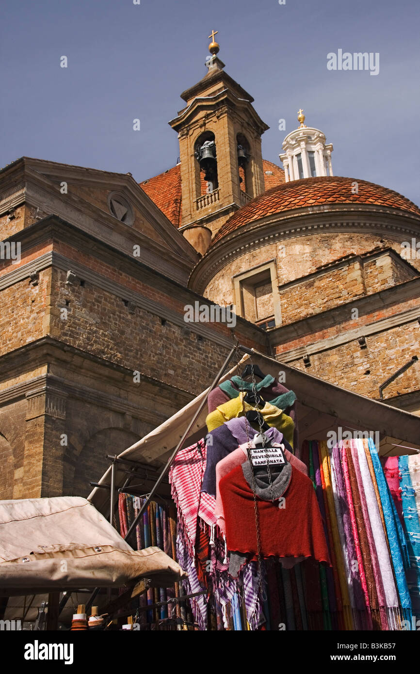 San Lorenzo church - Stock Image
