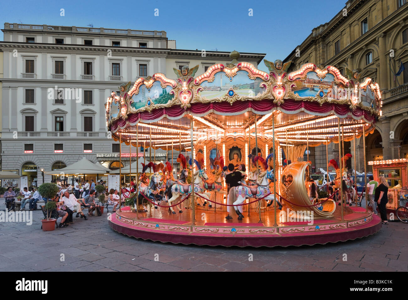 Piazza Della Repubblica Carousel