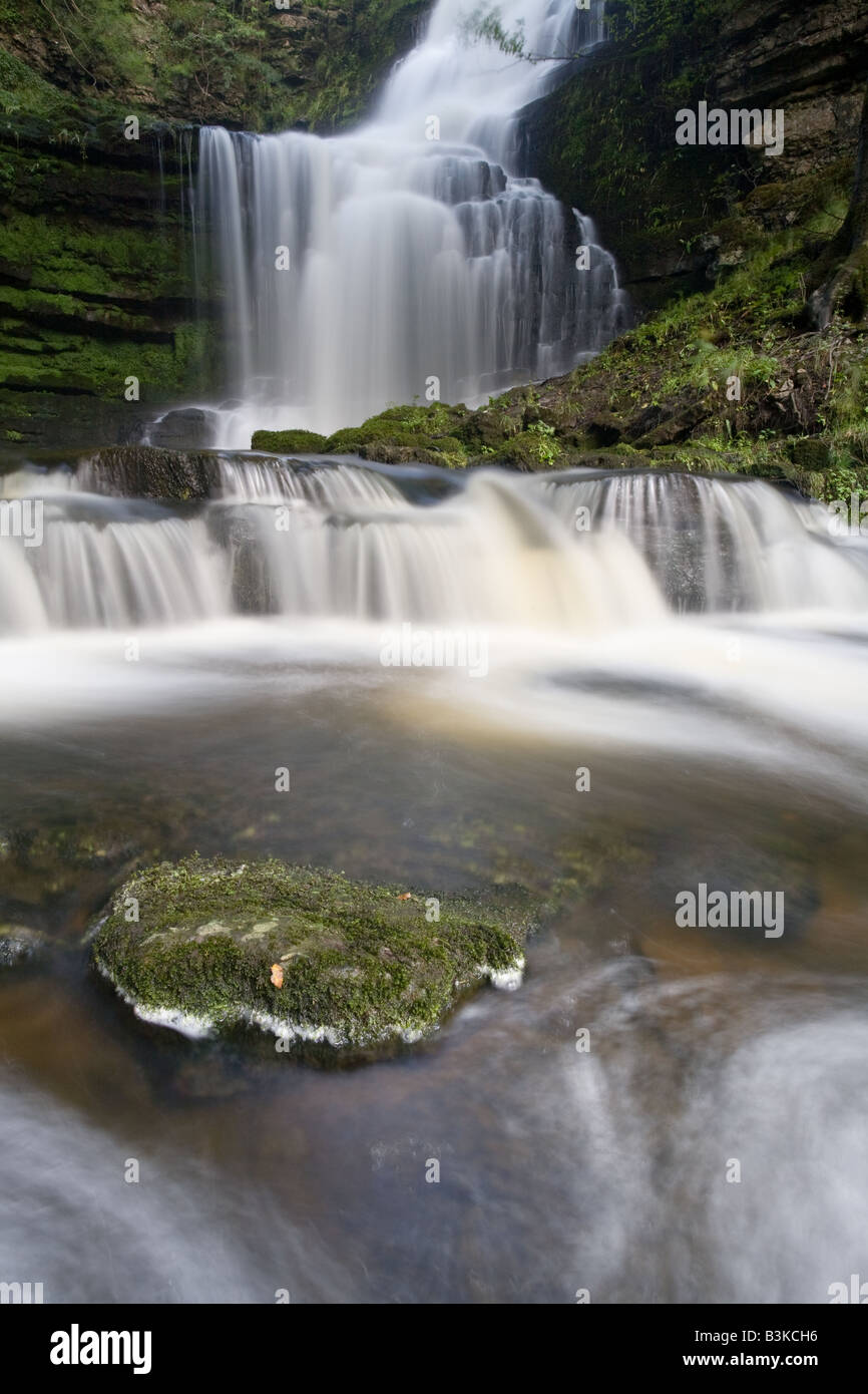 Scalebar Force Waterfall, Settle, North Yorkshire - Stock Image