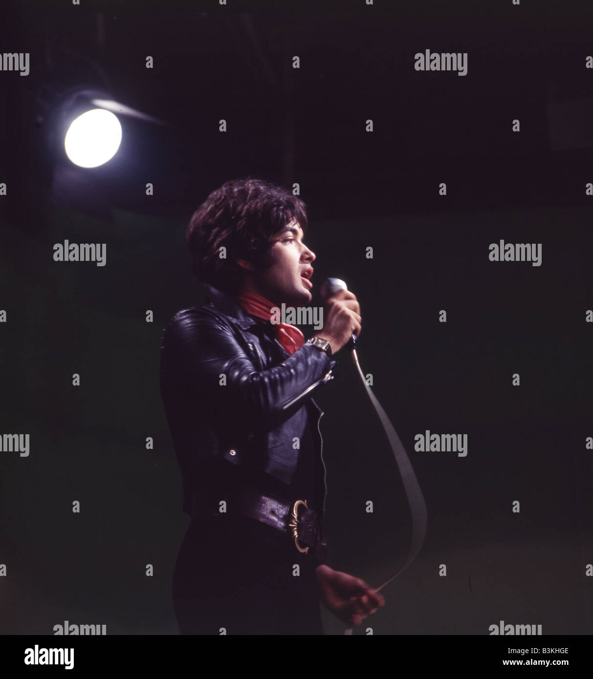 BARRY RYAN  UK pop singer in 1966 - Stock Image