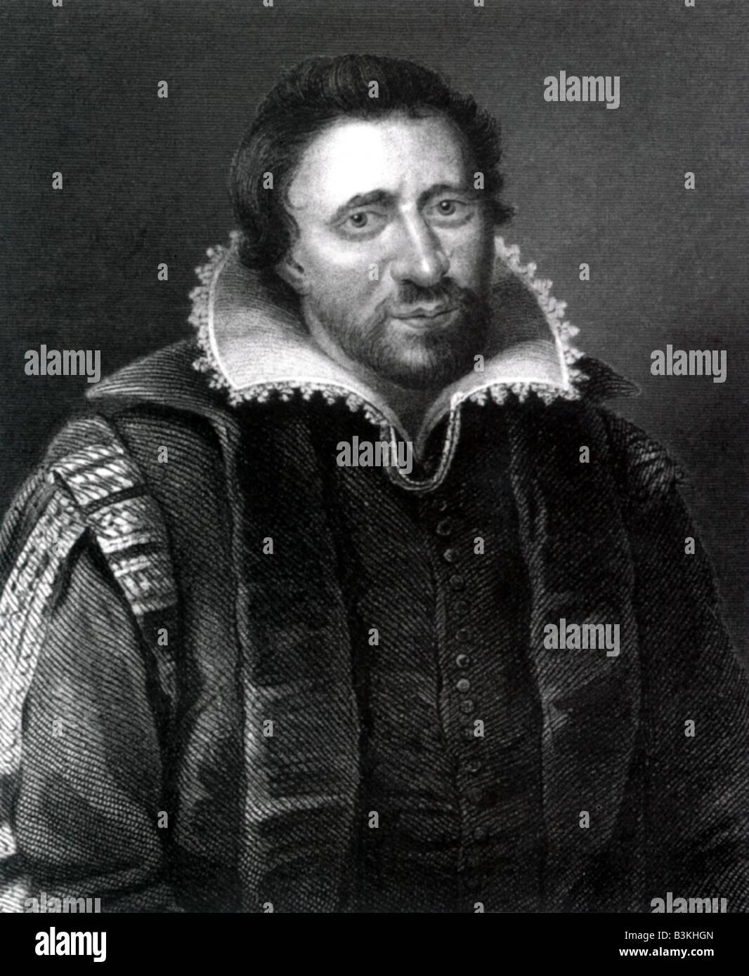 BEN JONSON English dramatist 1572 to 1637 - Stock Image