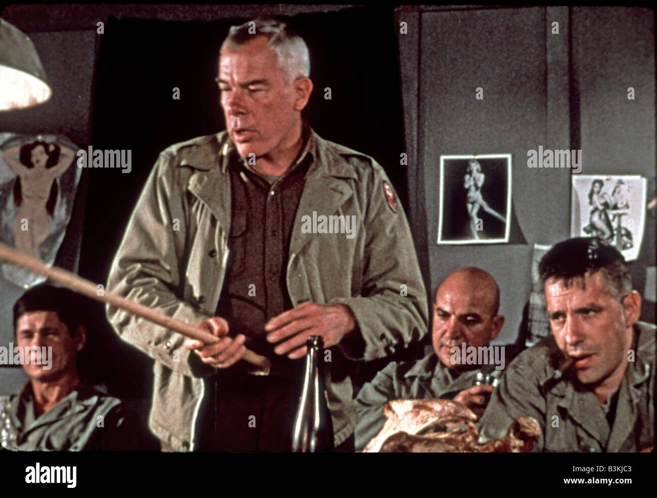 the dirty dozen 1967 mgm film with lee marvin stock photo: 19485875