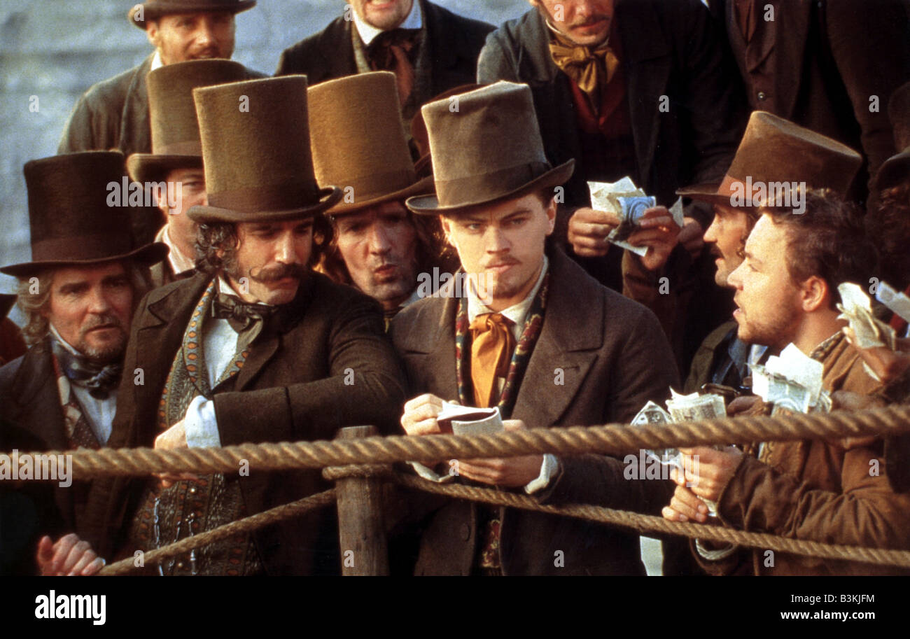 GANGS OF NEW YORK  2002 Entertainment film with Leonardo DiCaprio - Stock Image