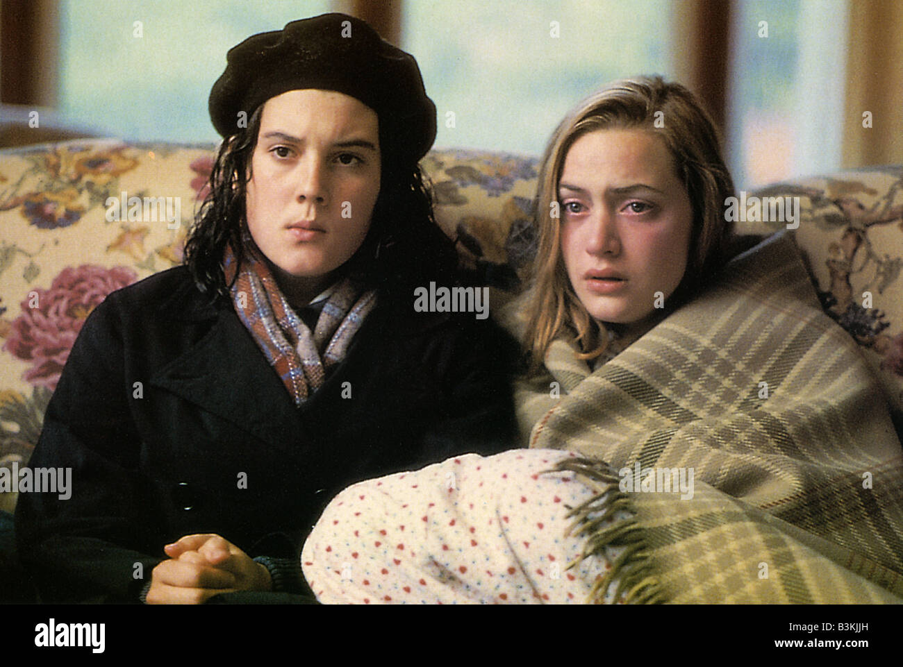HEAVENLY CREATURES 1964 Buena Vista film with Kate Winslet at right and Melanie Lynskey - Stock Image