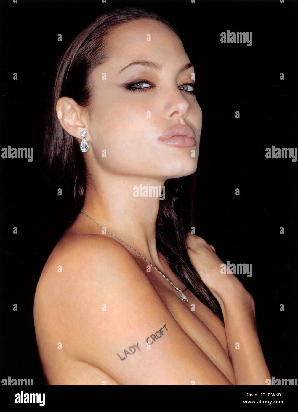Lara Croft Tomb Raider 2001 Paramount Film With Angelina Jolie