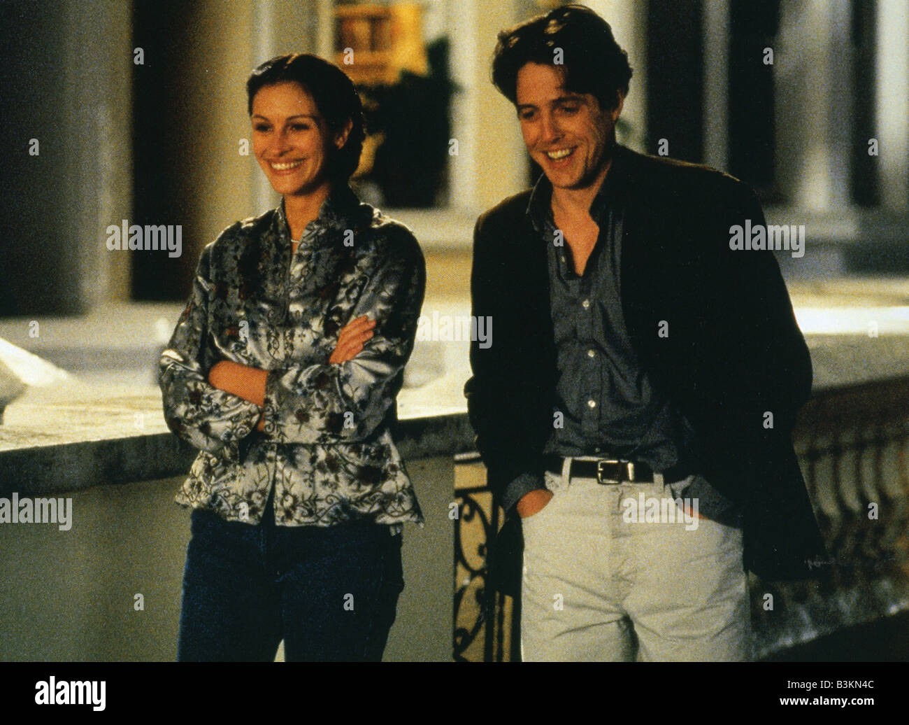 NOTTING HILL 1999 Polygram/Working Title film with Julia Roberts and Hugh Grant - Stock Image