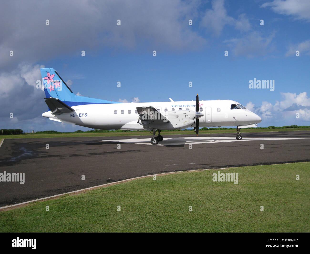 SAAB 340 passenger airliner - Stock Image