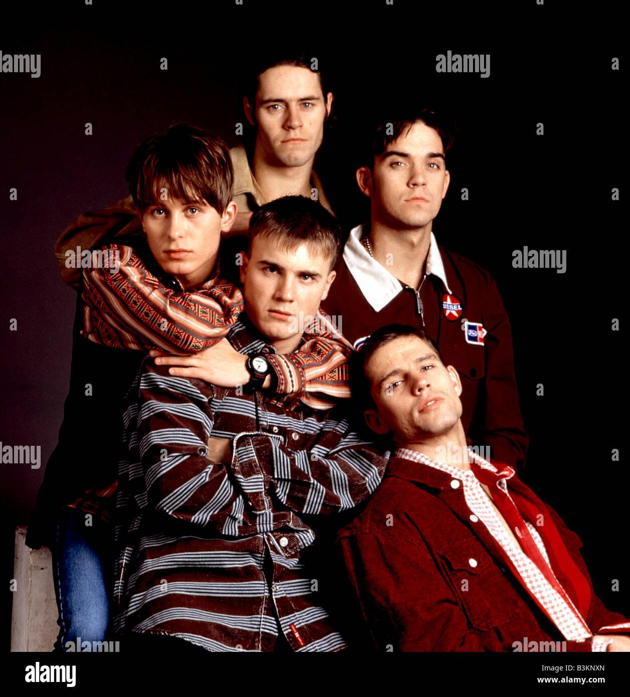 TAKE THAT  UK pop group - Stock Image