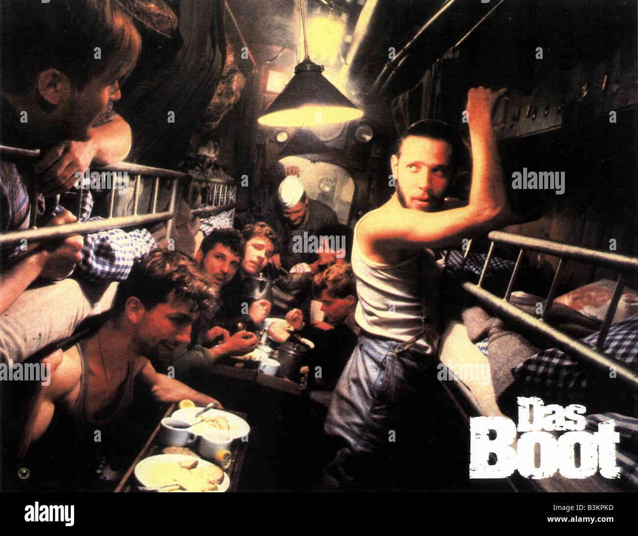 DAS BOOT 1981 Columbia film aka The Boat - Stock Image