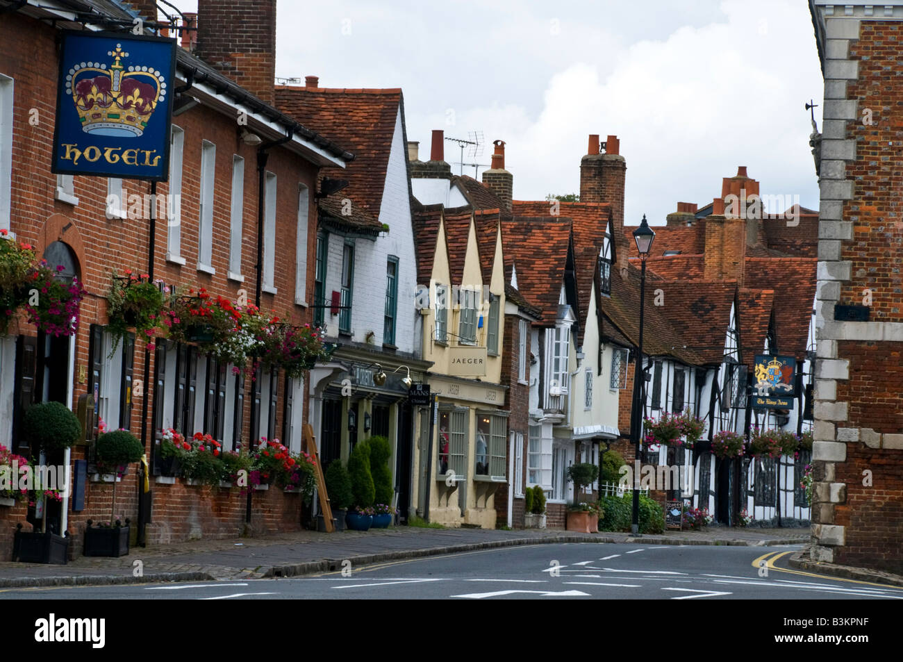 Amersham Old town High Street Stock Photo