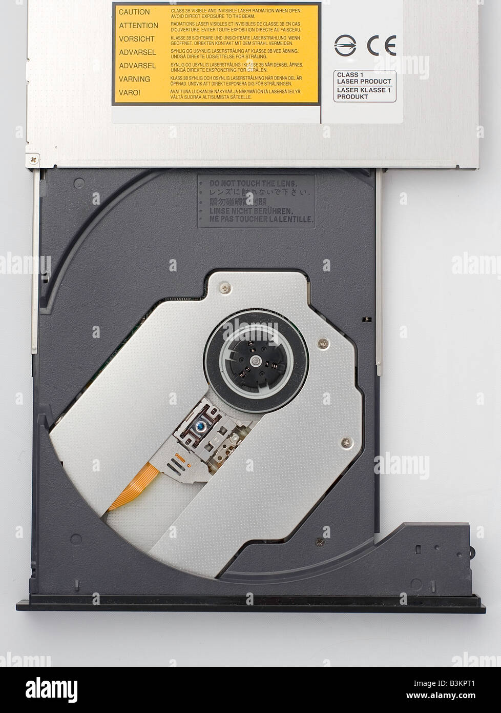 A DVD-R driver - Stock Image