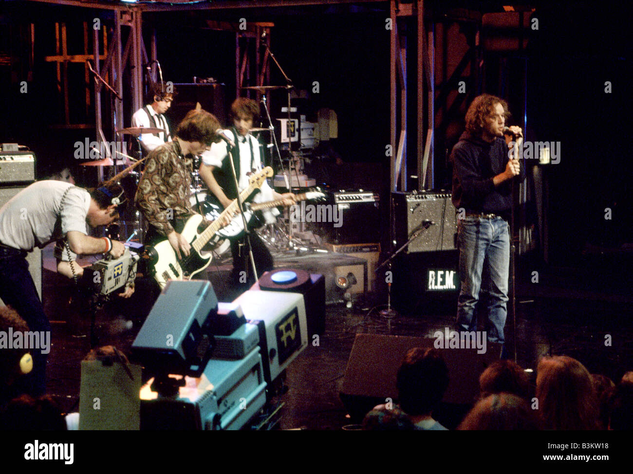 REM  US rock group - Stock Image