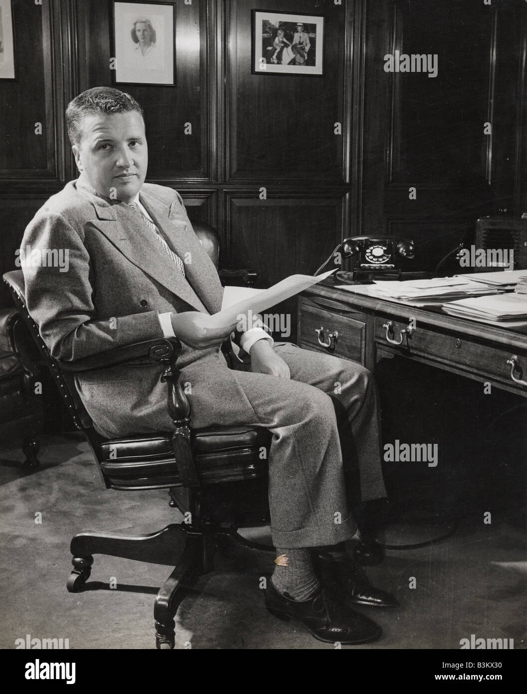 Henry ford ii in 1945 when he became president of the ford for The ford motor company