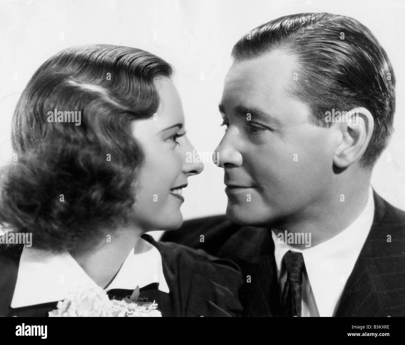 ALWAYS GOODBYE 1938 TCF film with Barbara Stanwyck and Herbert Marshall - Stock Image