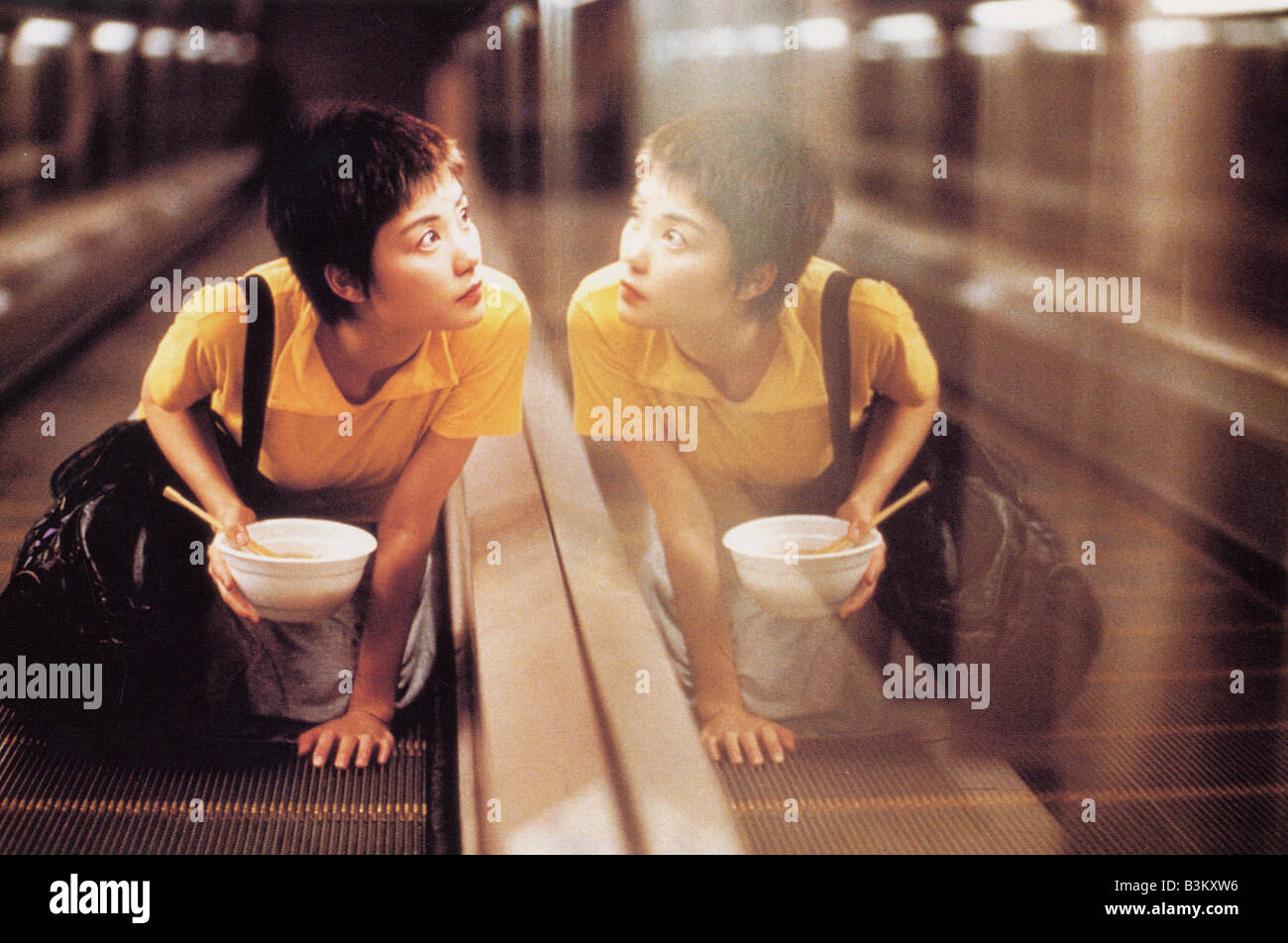 CHUNGKING EXPRESS 1994 ICA film with Brigitte Lin - Stock Image