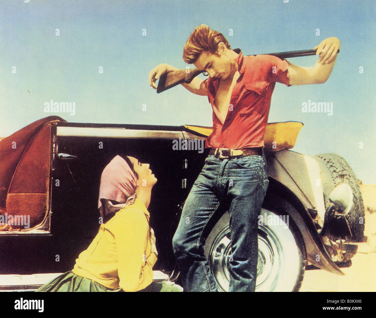 """James Dean. """"Giant"""" 1956, Directed by George Stevens ...  Giant 1956 James Dean"""