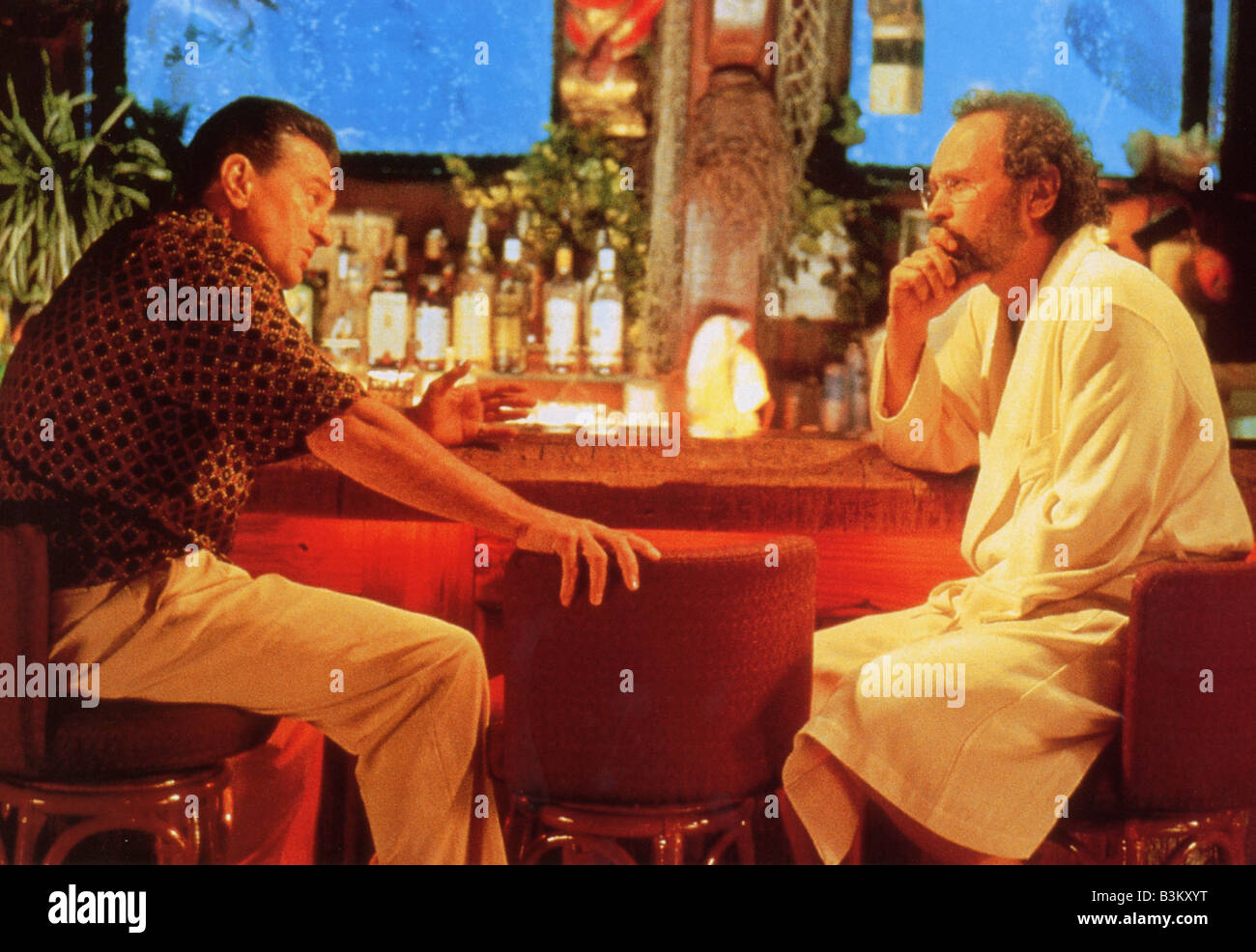 ANALYSE THIS 1999 Warner film with Robert De Niro at left and Billy Crystal - Stock Image
