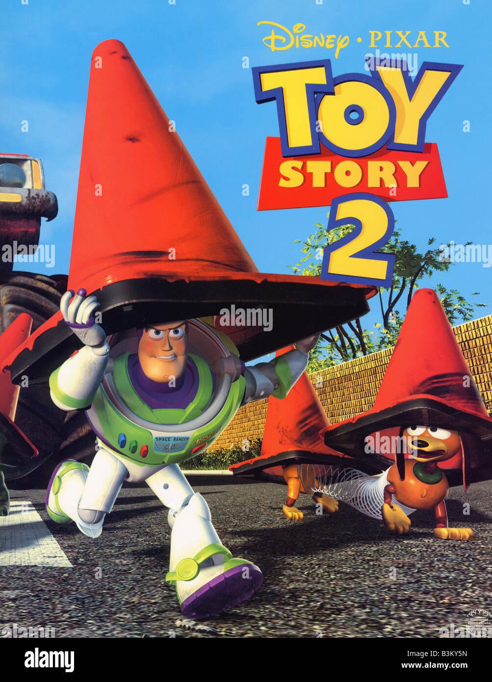 Toy Story 2 1999 Buena Vista Walt Disney Film Stock Photo