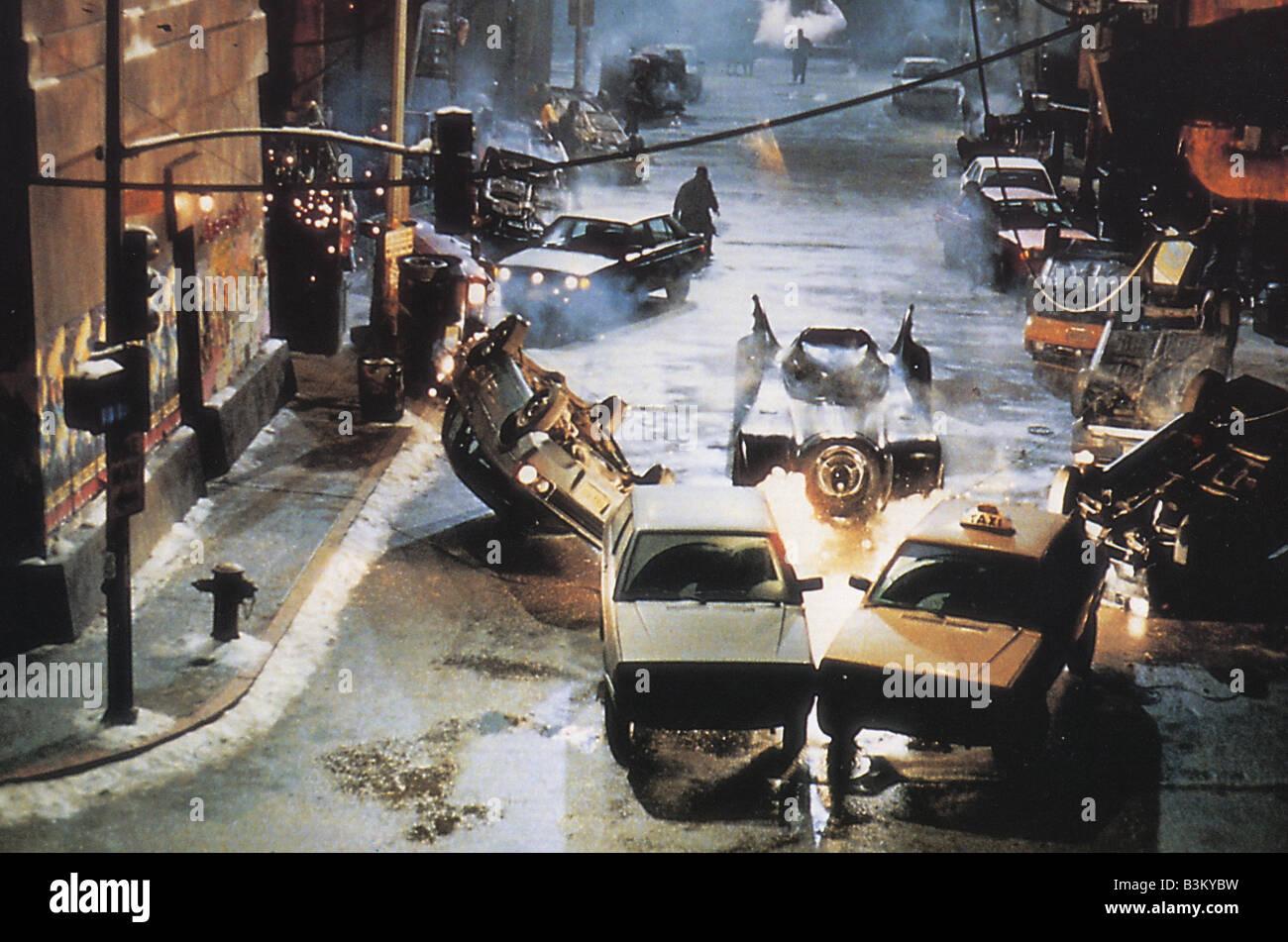 BATMAN RETURNS 1992 Warner film - Stock Image