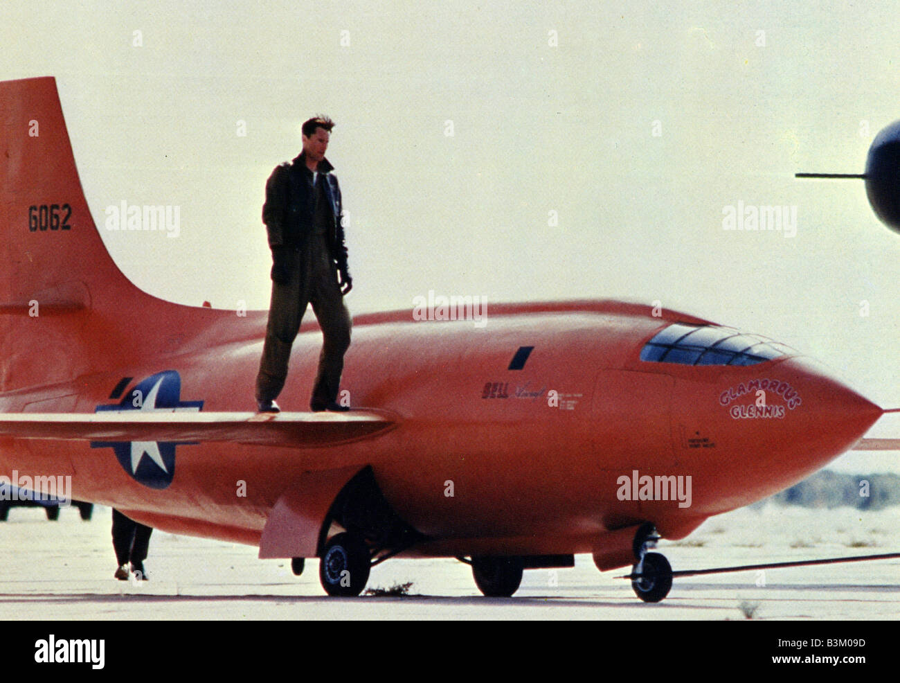 THE RIGHT STUFF  1983 Warner film with Sam Shepard - Stock Image