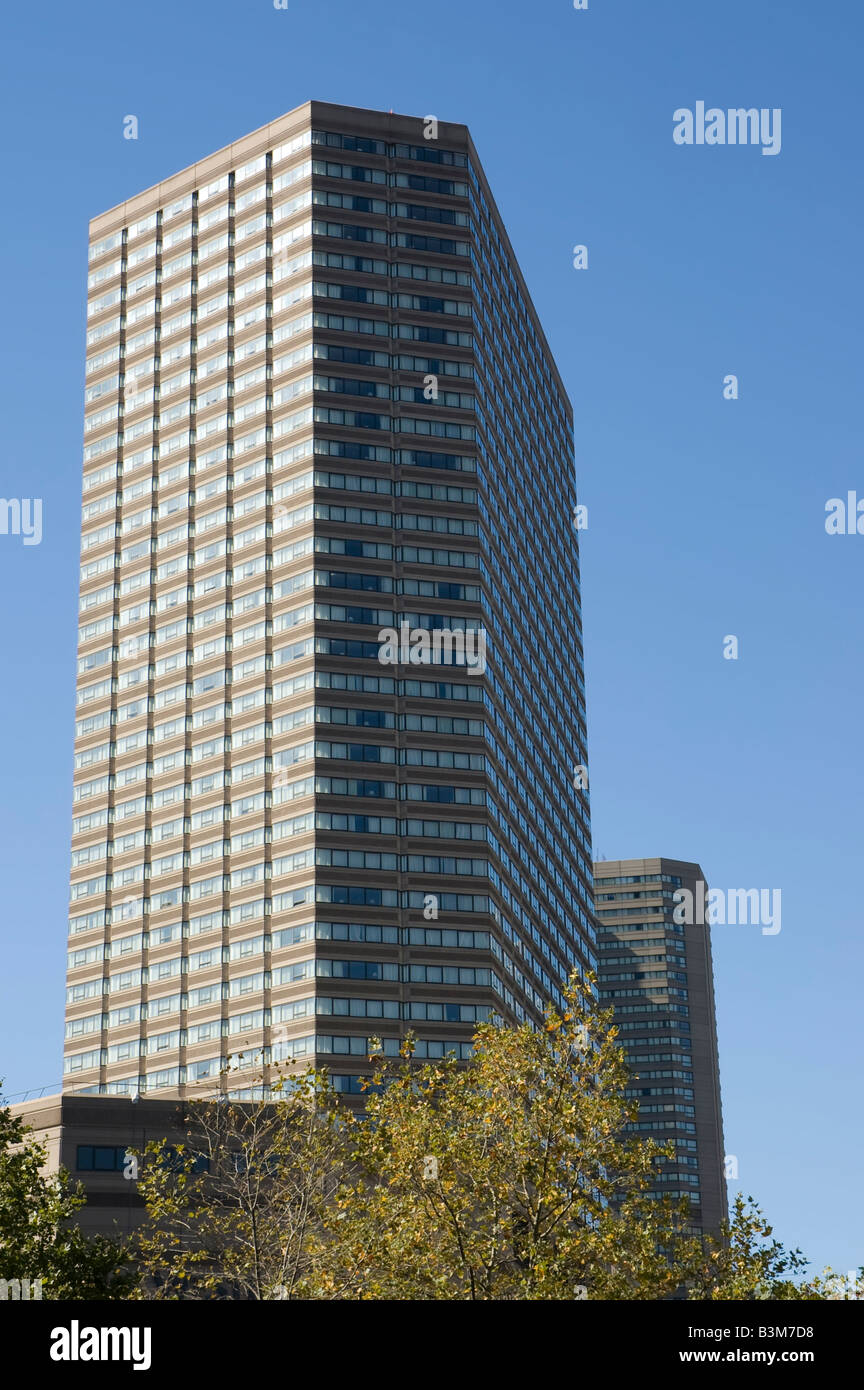 close view of the Westin Hotel - Stock Image