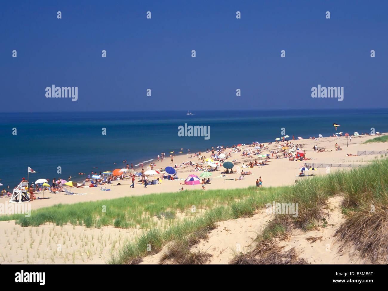 Cape Cod National Seashore Massachusetts - Stock Image