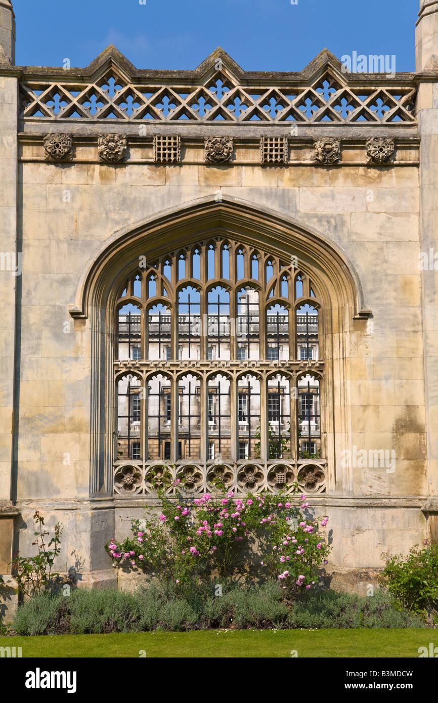 Kings College, Cambridge, England - Stock Image