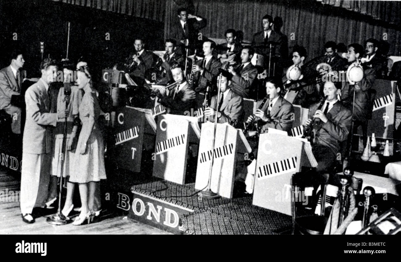 CLAUDE THORNHILL BAND  US 30s-40s dance band - Stock Image