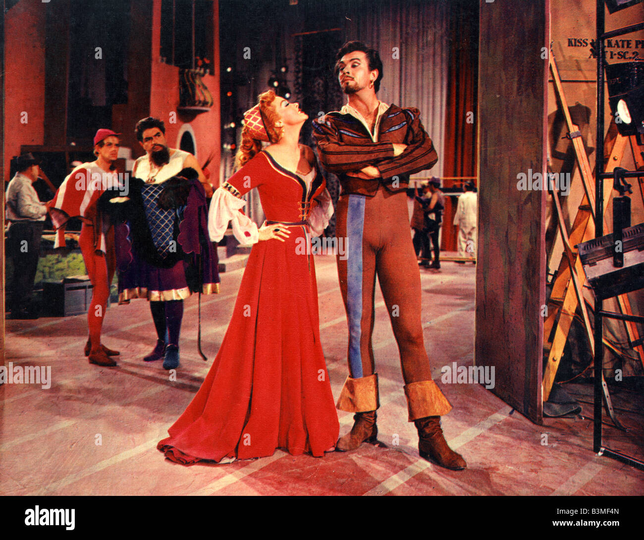 KISS ME KATE 1953 MGM film with Howard Keel and Kathryn Grayson - Stock Image