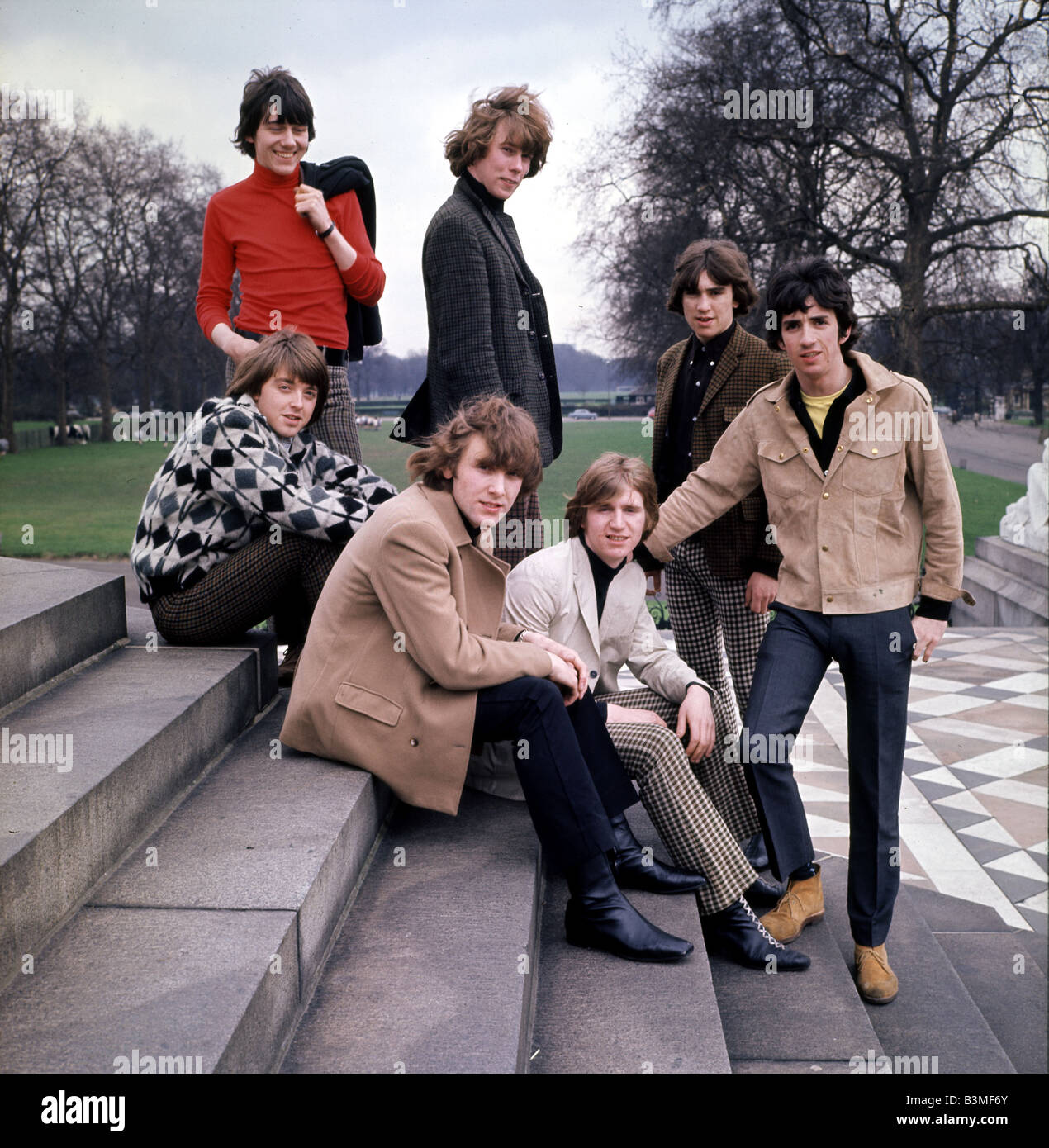 TONY CRANE AND THE MERSEYBEATS about 1970 - after The Merseybeats split up Tony Crane toured with varying lineups. - Stock Image