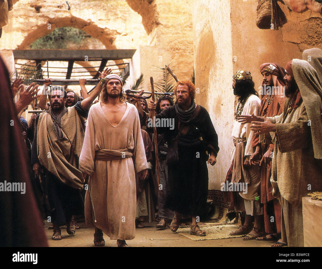 THE LAST TEMPTATION OF CHRIST 1988 Universal Film With Willem Dafoe As Jesus