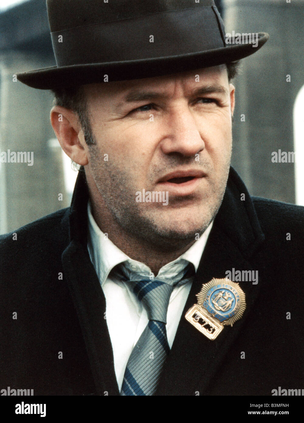 THE FRENCH CONNECTION 1971 TCF film with Gene Hackman - Stock Image