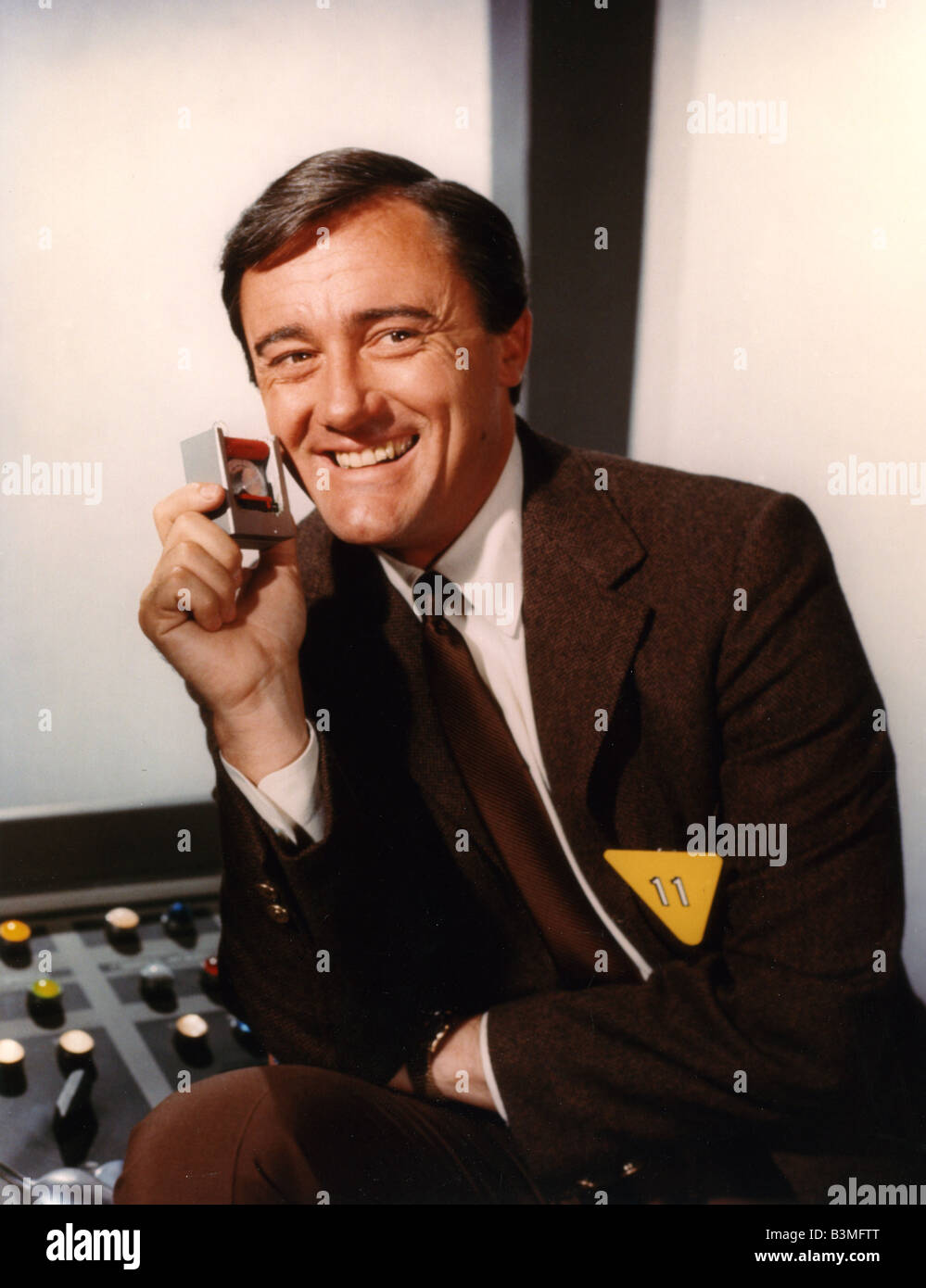 THE MAN FROM U.N.C.L.E.   US NBC Sixties TV series with Robert Vaughn - Stock Image