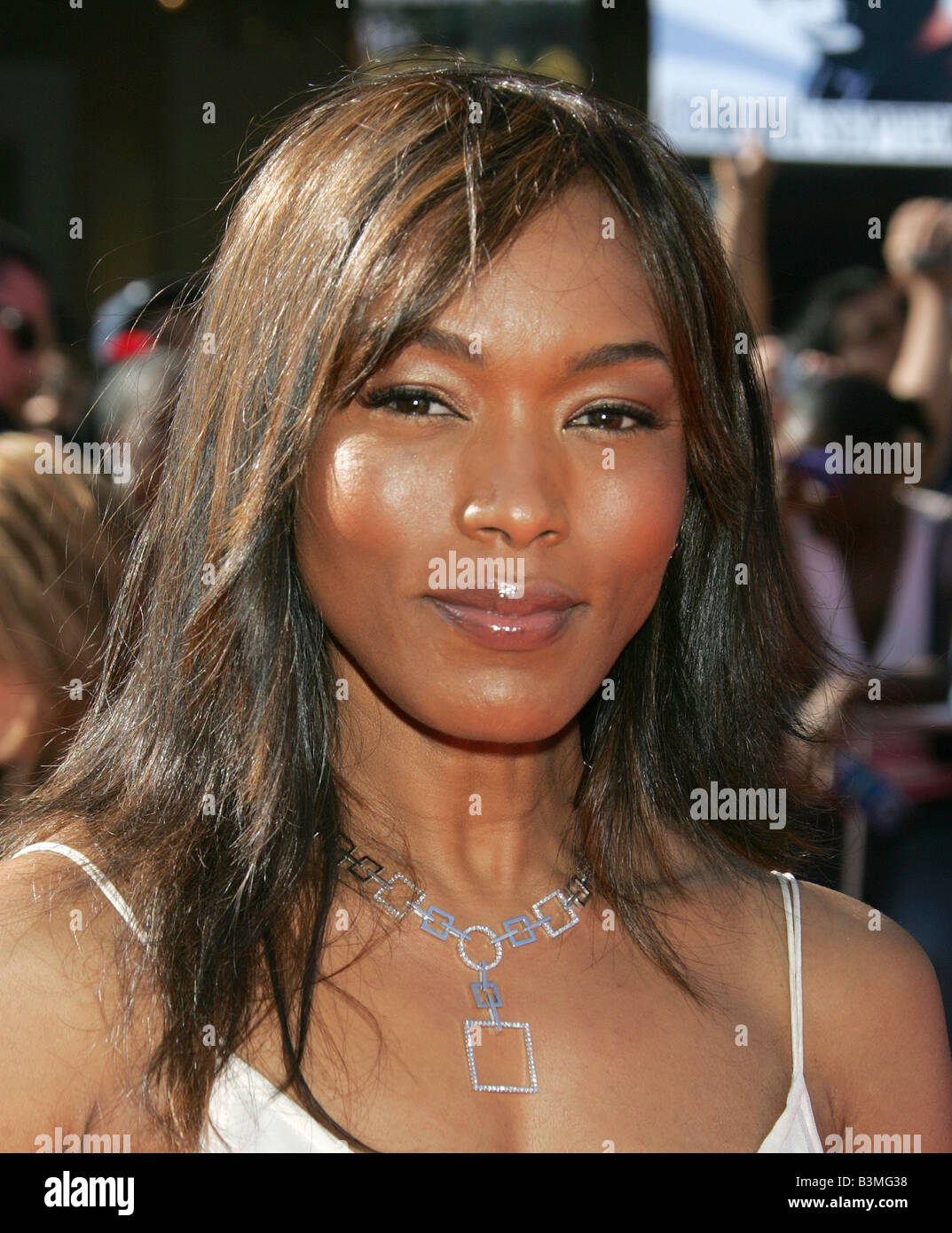 ANGELA BASSETT  US film actress in 2007 - Stock Image
