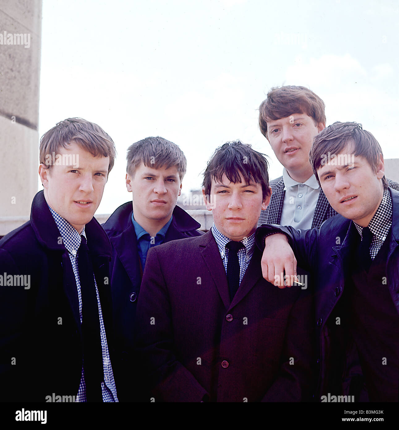 544f65af6 THE ANIMALS UK pop group in 1965 - see Description below for names - Stock  Image